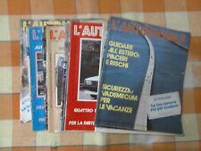 Rivista - Settimanale - L'Automobile - Roma - 26 Settembre 1985