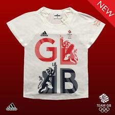 Adidas Stella McCartney Team GB Elite Lady ATHLETE podium T-shirt taille 16 36-38