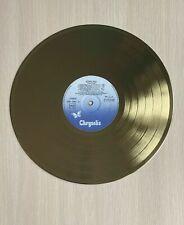 Jethro Tull Aqualung 1971 Gold Vinyl Record