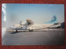 WAYNE CLUITT PHOTO ANTONOV AN-12 EL-AKN AIR CESS CARGO AIRLINES SHARJAH