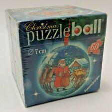 Ravensburg Christmas 3D Puzzle Ball - 60 Pieces - Father Christmas / Santa Claus