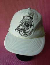 Cas Walker 'Ole Coon Hunter' Trucker Hat Adjustable Cap Knoxville TN Vintage