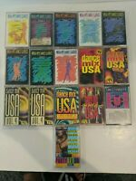Dance Mix  USA Cassette Lot  of 16 also features mega hits and disco party