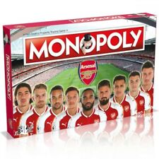 Arsenal Football Club Edition Monopoly Board Game With UK