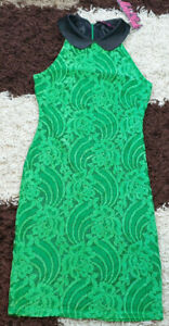 BNWT GLAMOROUS VINTAGE 60'S STYLE BODYCON, FITTED SUMMER/ PARTY DRESS SIZE 6?