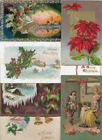 Beautiful Embossed Postcard Lot of 40+ With Christmas Easter Greetings   01.16
