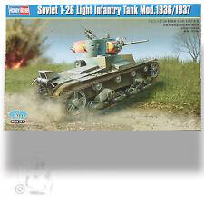 HOBBY BOSS 1/35 SOVIET T-26 LIGHT INFANTRY TANK ( MOST PRODUCED TANK OF PERIOD)