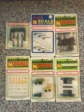 Lot of 6 Bachmann N Scale Train Accessories