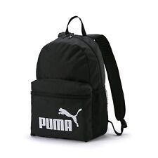 4ae636ce6f69 Puma Phase Sports Backpack Rucksack School College Bag - Black