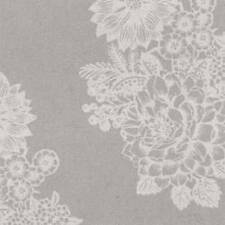 Wedding Paper Luncheon Napkins Lovely Lace Floral Pattern on Grey 40pcs