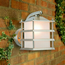 Outdoor LED Pagoda Grill Wall Porch Garden Lighting Lantern Light Fitting