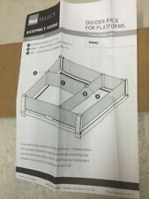 B&Q Glass Divider Pack For Platforms