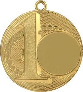 Medaille Fußballmedaille 50mm inkl. Band,Emblem,Rückseiten Beschriftung