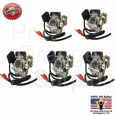 (5) GY6 Carburetor 50cc Scooter Moped PD18J Carb QMB139 4 StrokeEngine GY 6