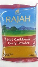 CARIBBEAN CURRY POWDER HOT - 100g - RAJAH - FINEST QUALITY