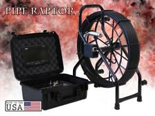 100 Mini Color Sewer Camera 512hz Sonde Video Inspection System Pipe Raptor Glm