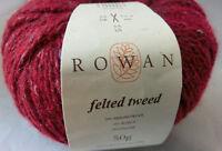 (17 €/100 g):50 g Rowan FELTED TWEED,Lot 22367 Fb. rot 150 Rage  #3551