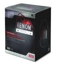 Medline, MIIVEN6045R, Venom Disposable Premium Nitrile Gloves, 50