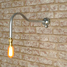 New Industrial Style Swan Neck Wall Light Vintage Retro Lighting works with led