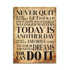 Never Quit You Can Do It Friendship Inspirational Gift Fridge Magnet 4x3 inch