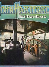 JOHN HARTFORD nobody knows what you do UK 1976 EX LP