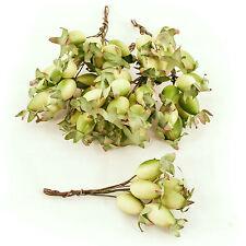 Artificial Rosehip Berry Picks Cream, Box of 36