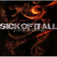 SICK OF IT ALL - SCRATCH THE SURFACE CD POP NEW+