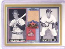 2002 Fleer Fall Classics Rival Factions Pee Wee Reese pants #SM-PR *68410