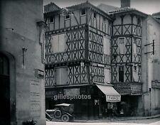 AGEN c. 1900-20 - Auto Maison à Colombages Commerce Lot et Garonne - Div 2741