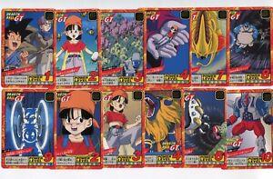 Lote Folios Power Level - Super Battle Ccl 17&18 - Dragon Ball Gt Dbz Bandai