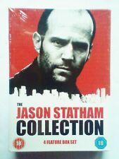 Jason Statham 4 movie 4 disc DVD boxset Revolver, War, Chaos, The Bank Job