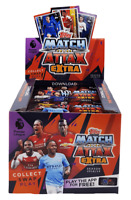 2018 2019 Match Attax Extra EPL Premier League Soccer Game Cards 50 Packs in Box