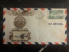 1940 Honolulu HI USA Airmail Cover PAA Transpacific Clipper California Hawaii