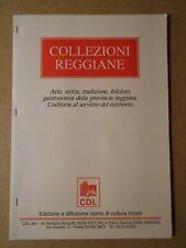 COLLEZIONI REGGIANE serie completa di 4 BUSTINE DI ZUCCHERO Reggio Emilia