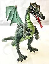 Green Dragon Toy Fantasy Figure w/ Wings