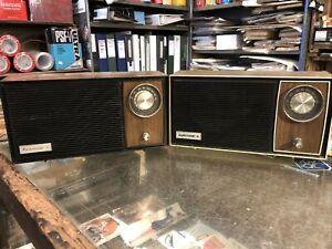 Vintage Retro Radios Household X 2 Fairmont & Auritone Working Condition