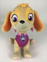 Paw Patrol Skye Plush Stuffed Animal Toy Talking Lights Puppy 2013 Spin Master
