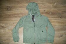 Tommy Hilfiger-boys khaki hooded cotton jacket.7y(122 cm).BNWT.RRP 59 £.
