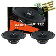 Hertz DCX 460.3 Coppia Casse Kit Altoparlanti Set Ovali Coassiali 10x15CM 80W