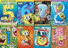 SPONGEBOB SQUAREPANTS Complete All SEASON 1-9 DVD Set Nickelodeon Video Lot Kids