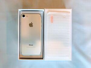 Apple iPhone 7 256GB SILVER Unlocked A1660 Verizon AT&T, T-Mobile, Warranty, RF
