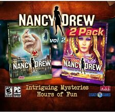 Nancy Drew 2 Pack Vol 2 : The Captive Curse & Tomb of the Lost Queen - New
