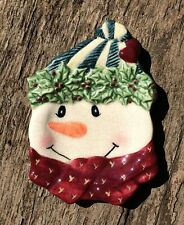 Bella Casa By Ganz Snowman Kitchen Spoon Rest Christmas
