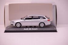AUDI A6 AVANT 2004 SILVER MINICHAMPS 1/43 NEUF BOITE PROMOTIONNELLE