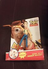 New 2013 Disney Pixar Toy Story Round 'Em Up Sheriff Woody Deluxe Figure Mattel