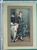 C1930 Francese Stampa L'Illustrazione ~ Cyprien Sfera Abito Circolare Boulet