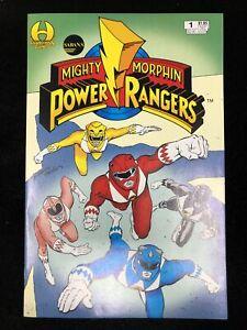 Sabans Mighty Morphin Power Rangers #1 (Hamilton 1994) +Card Insert  ~9.4 NM