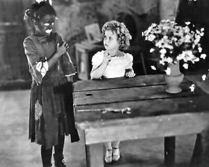 Shirley Temple with Dimples 1936 costar child movie star 8x10 photo STY402