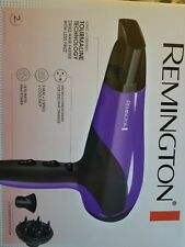 Remington Hair Dryer with Ionic + Ceramic + Tourmaline Technology, Purple