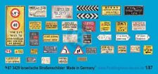 Peddinghaus 1/87 (HO) Real Israeli Road / Traffic Signs Street Name Plates 3429